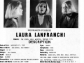Laura Lanfrancha's headshot (back) from Bad Guys Talent Management Agency