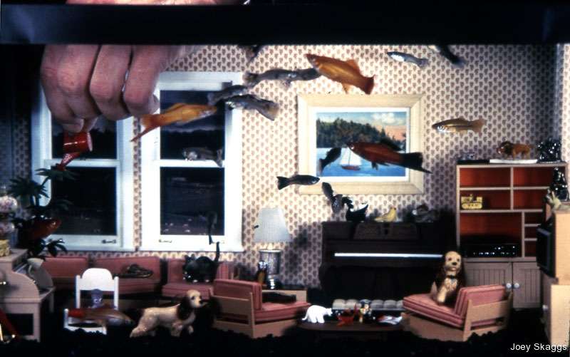 Joey Skaggs Fish Condos: Living Room