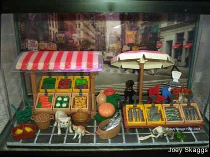 Joey Skaggs Fish Condos: Market