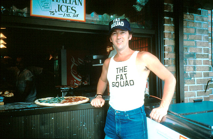 Joe Bones, aka Joey Skaggs, Owner of The Fat Squad, 1986