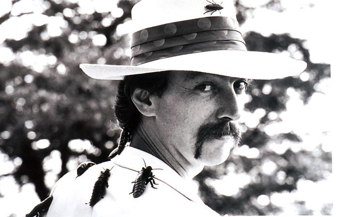 Dr. Josef Gregor, aka Joey Skaggs, in Metamorphosis