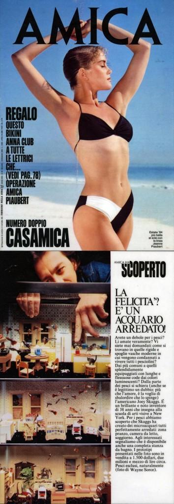 La Felicita'? E' un Acquario Arredato!, Amica (Italian), May 15, 1984