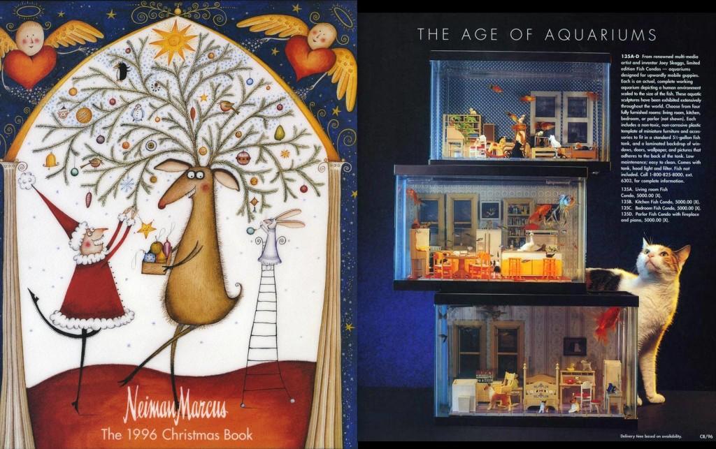 The Age of Aquariums, Neiman Marcus Christmas Catalog, December 1996