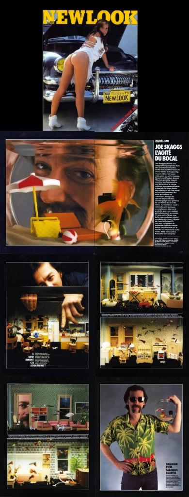Modélisme: Joey Skaggs L'Agité du Bocal, New Look, June 1984