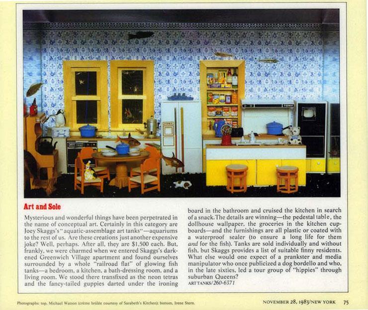 Art and Sole, New York magazine, November 28, 1993