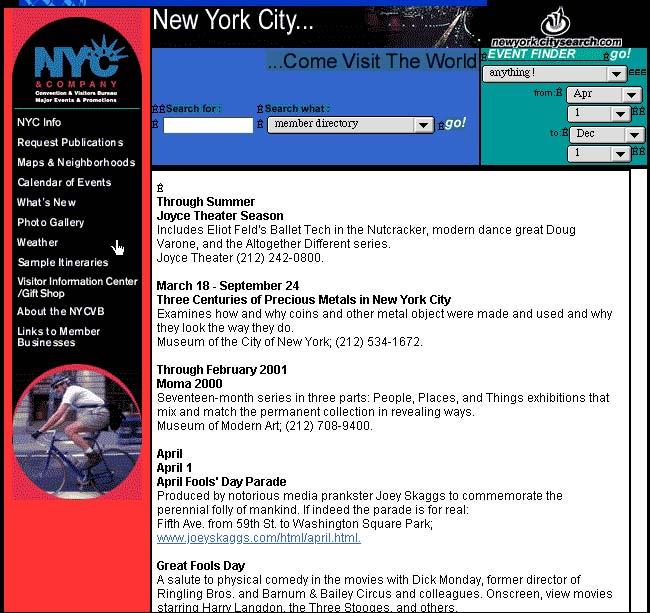 April Fools' Day Parade, New York City & Company, 2000