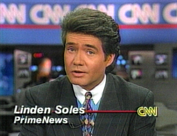 Linden Soles of CNN Prime News reports on the Solomon Project, December 1995
