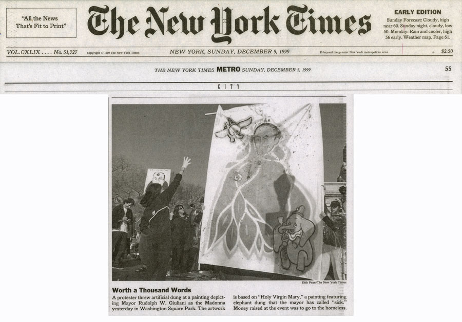 Worth a thousand words, The New York Times, December 5, 1999