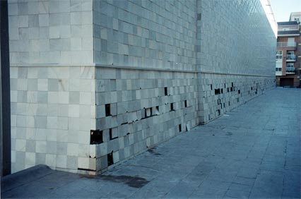Exterior Wall of Espai d'Art Contemporani de Castellon, Spain (EACC Museum)