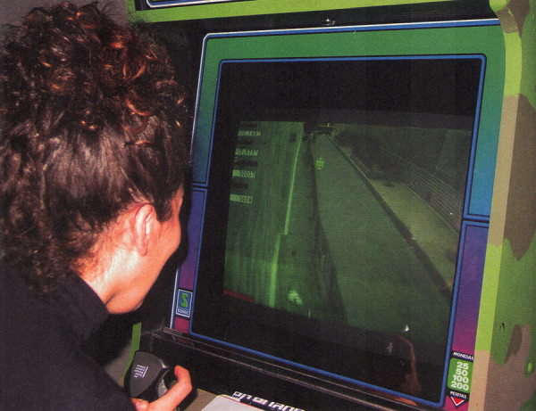 Joey Skaggs' Art Attack arcade game player, EACC Museum Catalog, October, 2002