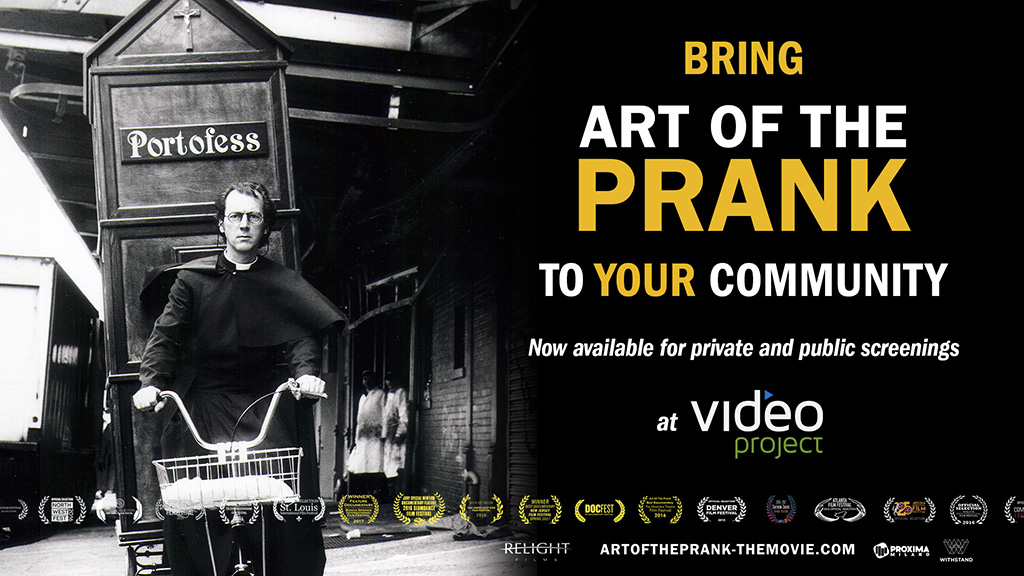 Art of the Prank is available for community screenings