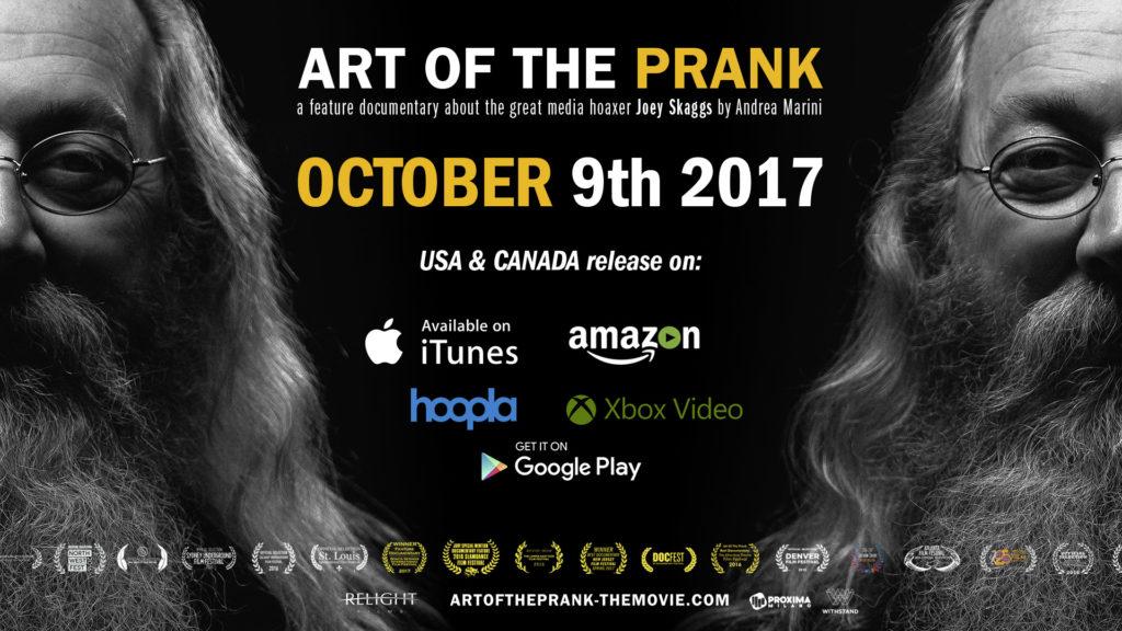ART OF THE PRANK VOD Release October 9, 2017