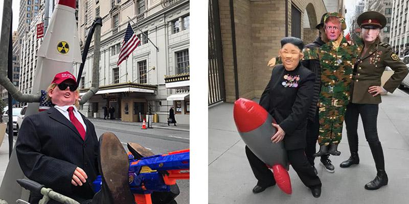 Prep for Trump's Military Parade